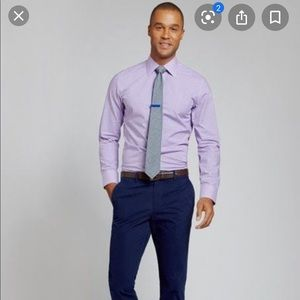 Banana Republic Purple Dress Shirt